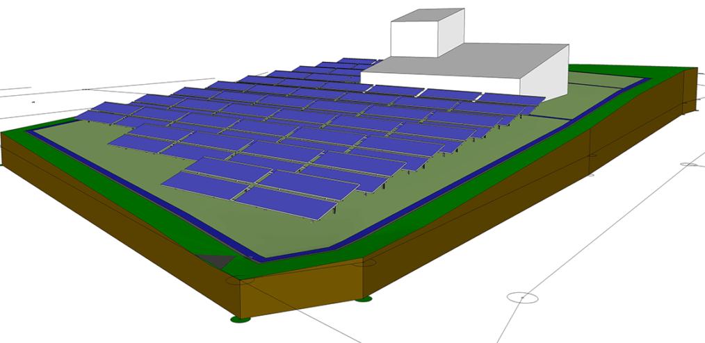 Solaranlage für das Wärmenetz in Hallerndorf