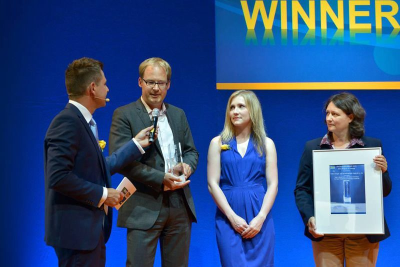 Intersolar Award 2015 Preisverleihung 2