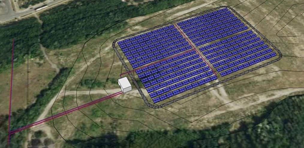 Solares Wärmenetz der Staftwerke in Senftenberg