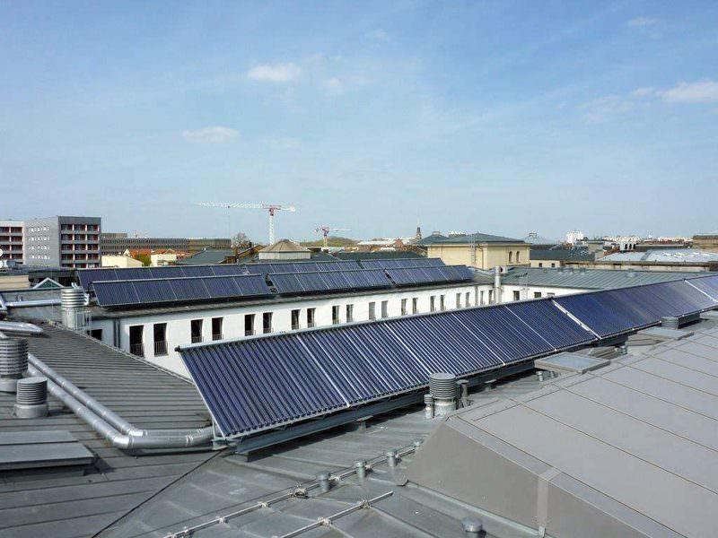 Verkehrsministerium Solar