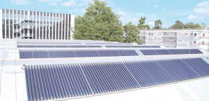 Hochscule Karlsruhe betreibt solare Dampferzeugung