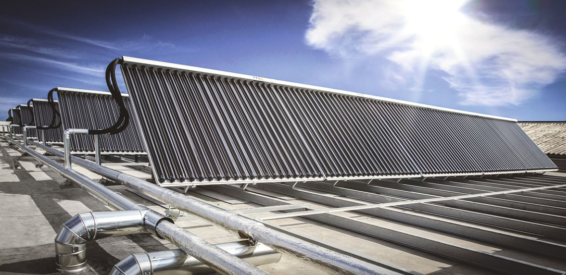 Solare Prozesswärme für Galvanik Betrieb