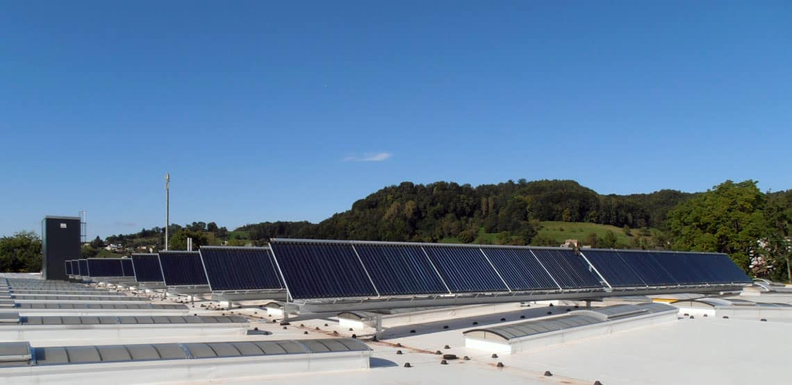 Zehnder Group Solarthermie