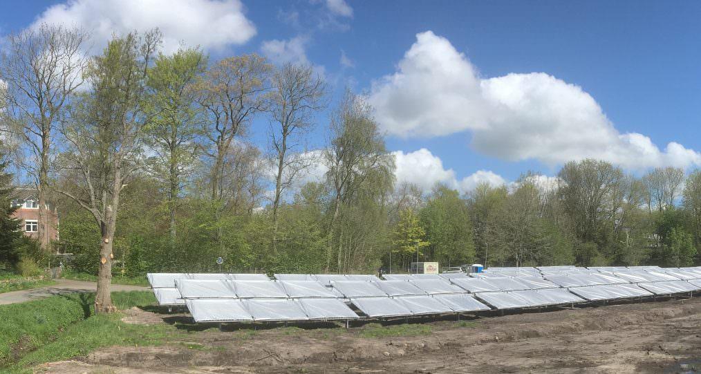 solarunterstützte Wärmenetz in Breklum
