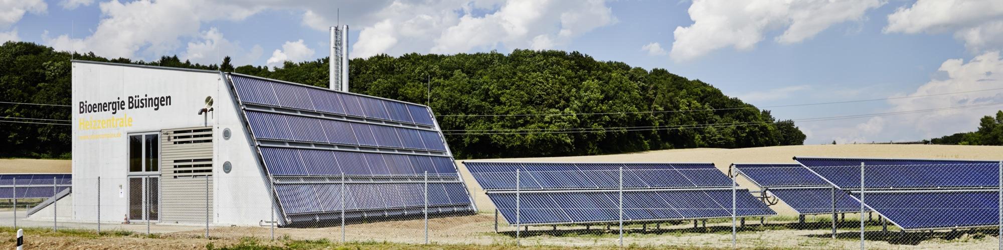 Solare Einspeisung in Wärmenetze