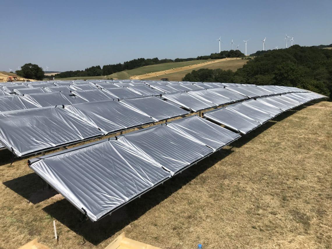 Gimbweiler solare Großanlage