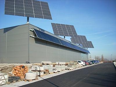 DEGERenergie betreibt die Solaranlage auch zum Heizen