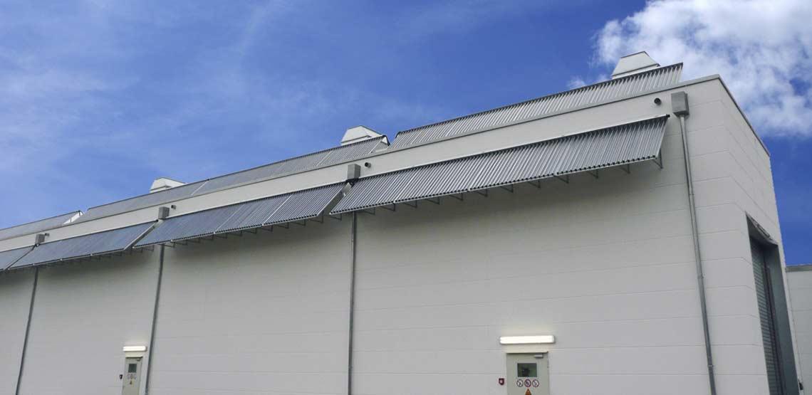 Kölner Verkehrsbetriebe setzt auf solare Prozesswärme