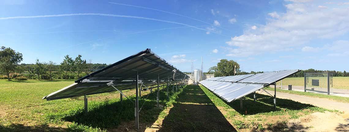 Stadtwerke Ulm - Solare Großanlage für Wärmenetz der Uni